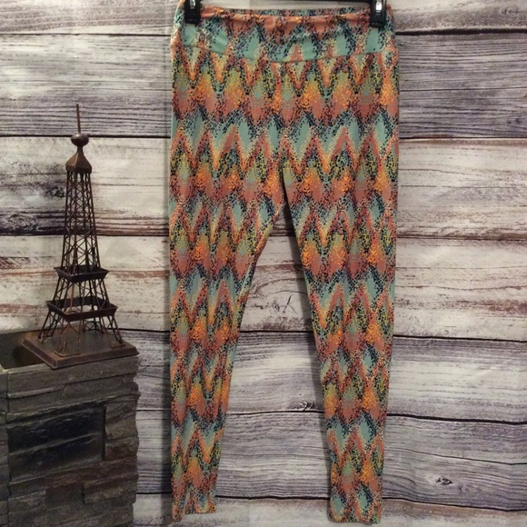 LuLaRoe Pants - LulaRoe Colorful Speckled Leggings